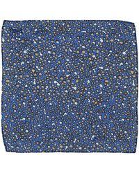 Pinko Square Scarf - Blue