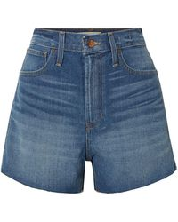 Madewell Denim Shorts - Blue