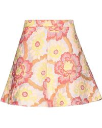 Femme By Michele Rossi Mini Skirt - Pink