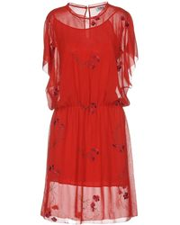 Sonia by Sonia Rykiel Midi Dress - Red