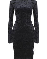 Balenciaga Minivestido - Negro