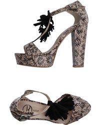 Relish Sandals - Grey