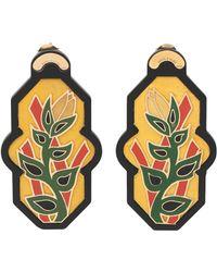 Anna E Alex - Brasile Flower Earrings - Lyst