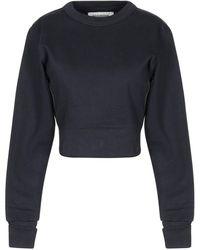 A_PLAN_APPLICATION Sweatshirt - Blau