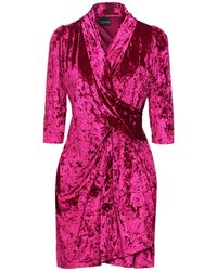 Marc Ellis Short Dress - Purple