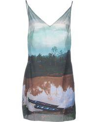 Osklen - Short Dress - Lyst