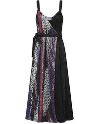 Versus 3/4 Length Dress - Black