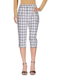 Frankie Morello - 3/4-length Trousers - Lyst