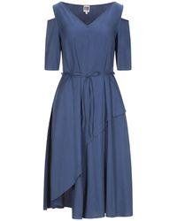 I'm Isola Marras 3/4 Length Dress - Blue