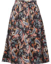 Libertine-Libertine Knee Length Skirt - Black