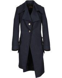 Vivienne Westwood Anglomania Coat - Blue