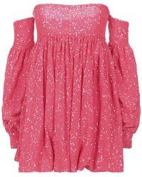 Amen Kurzes Kleid - Pink