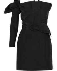 Carmen March Short Dress - Black