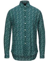 Bagutta Camisa - Verde