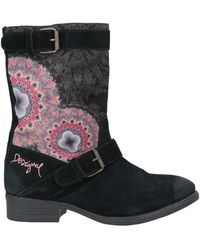 Desigual Ankle Boots - Black