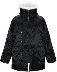 Gosha Rubchinskiy Synthetic Down Jacket - Black