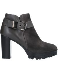 Mally Ankle Boots - Grey