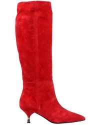 Giampaolo Viozzi Stivali - Rosso