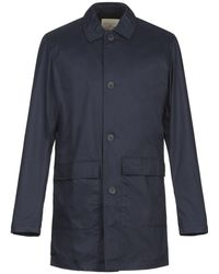 SELECTED Overcoat - Blue