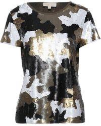 MICHAEL Michael Kors Camiseta - Metálico