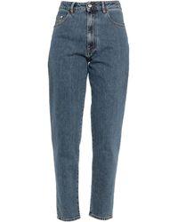 Gcds Pantalon en jean - Bleu