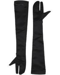 MM6 by Maison Martin Margiela Gloves - Black