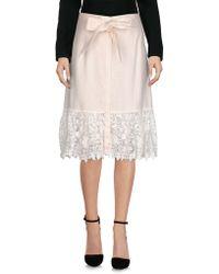 Miguelina Midi Skirt - Pink