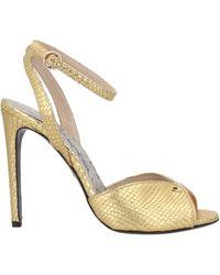 Class Roberto Cavalli Sandals - Metallic