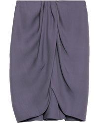 Emporio Armani Midi Skirt - Purple