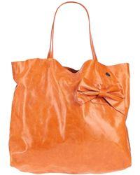 Ice Iceberg Handbag - Orange