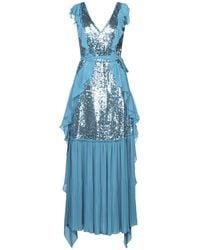 In the mood for love Vestido largo - Azul