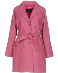 Ballantyne Coat - Purple