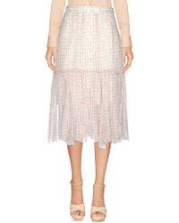 Paola Frani - 3/4 Length Skirt - Lyst