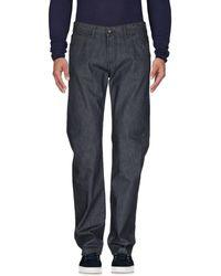 Pal Zileri Denim Trousers - Blue