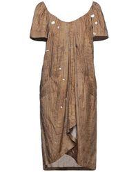 Barbara Bui Midi Dress - Natural