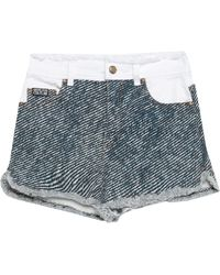 Versace Jeans Couture Shorts & Bermuda Shorts - Blue