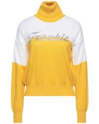 Frankie Morello Turtleneck - Yellow