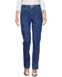 Stella McCartney - Denim Pants - Lyst