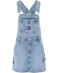 Tommy Hilfiger Overall Skirt - Blue