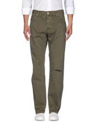 Edwin Pantalon en jean - Vert