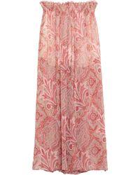 Souvenir Clubbing Long Skirt - Pink