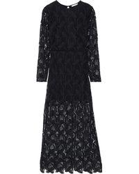 Maje Long Dress - Black