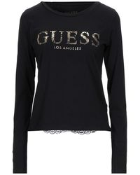 Guess Camiseta - Negro