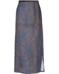 Henry Cotton's Long Skirt - Blue
