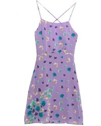 Versus Short Dress - Purple