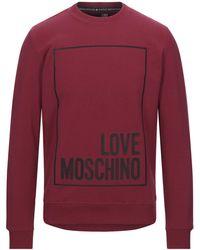 Love Moschino Felpa - Rosso