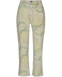 One Teaspoon Denim Trousers - Natural
