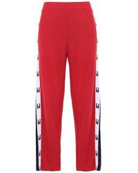 Tommy Sport Pantalon - Rouge