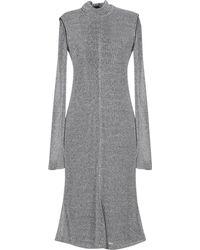 Philosophy Di Lorenzo Serafini Knee-length Dress - Metallic