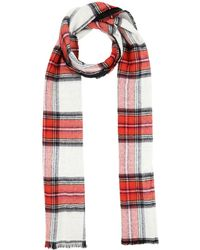 TOPSHOP Oblong Scarf - Red